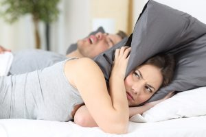 Sleep apnea is a serious medical condition interfering with sleep of partners as well